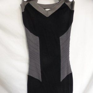 DYNAMITE, color block dress / pintucks, xs, BNWT